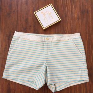 Lilly Pulitzer Callahan Party Shorts Size 16